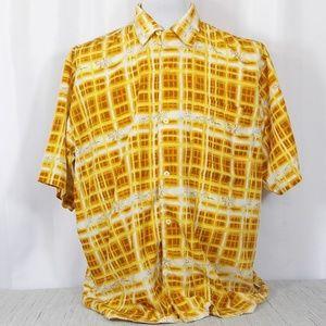 Raw Blue Gambling Dice Shirt Mens Size XL